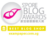 Singapore Blog Awards 2008 Winner (Best Blog Shop)