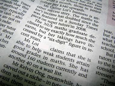 'Million-dollar Tutor' Celine Loi