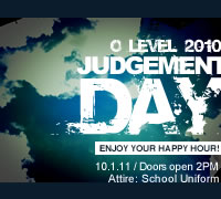 GCE O level 2010 Judgement Day