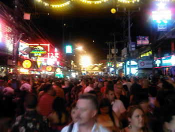 Patong, Phuket on New Year's Eve
