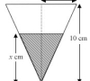 Small Increments & Approximations – A Familiar-Looking Inverted Cone of Water