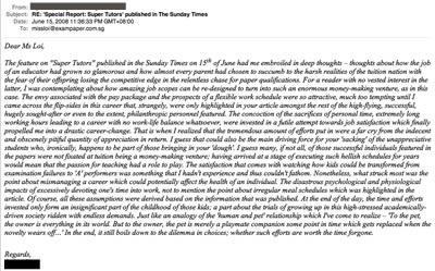 The Rosetta Email