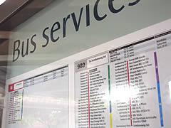 SBS Bus Schedule