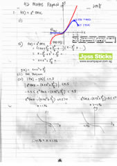 A-Level 2008 October/November H2 Maths Paper 2 Solutions