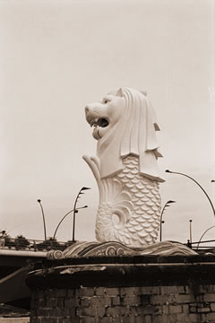 Old Merlion
