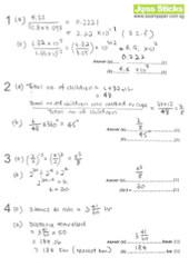 O-Level Oct/Nov 2008 EMaths 4016 Paper I Solutions