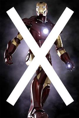 No Iron Man!