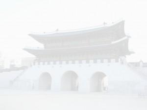 Foggy Gwanghwamun