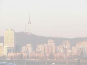 Foggy Seoul