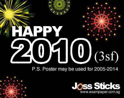 Happy 2010 (3sf)!