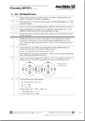 GCE O Level 2013 Chemistry 5072 Paper 1 solutions