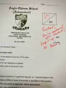 Full marks maintained